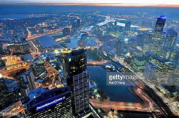 Blue hours CBD Melbourne