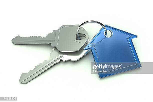 Blue House and Keys