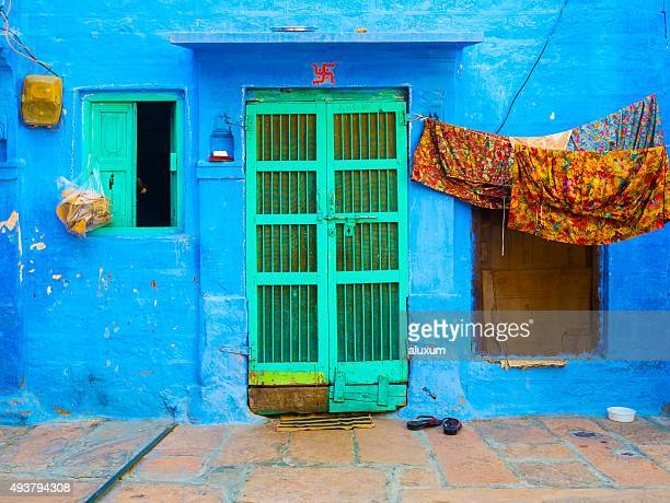 Blue house in Jodhpur Rajasthan India