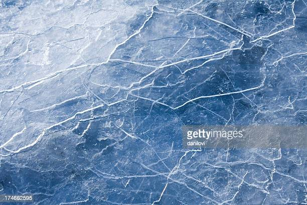Blue Ice abstraction