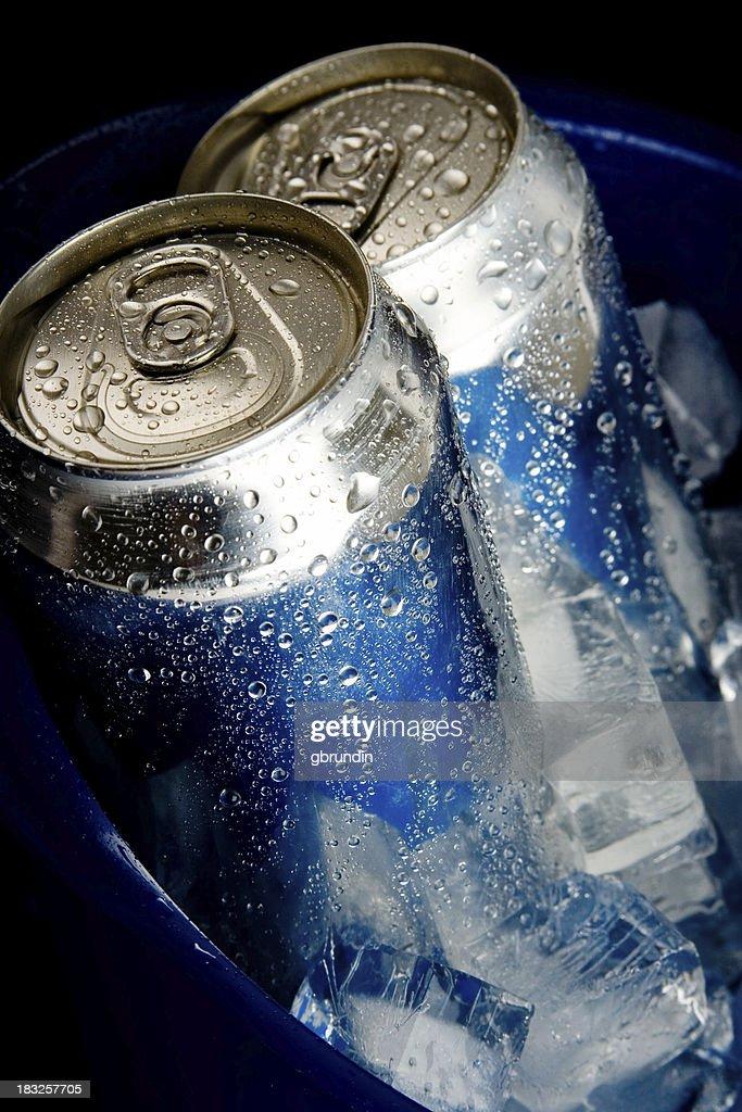Blue Ice Beer : Stock Photo