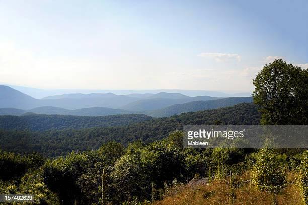 Blue idge Mountains, Appalachians, Virginia