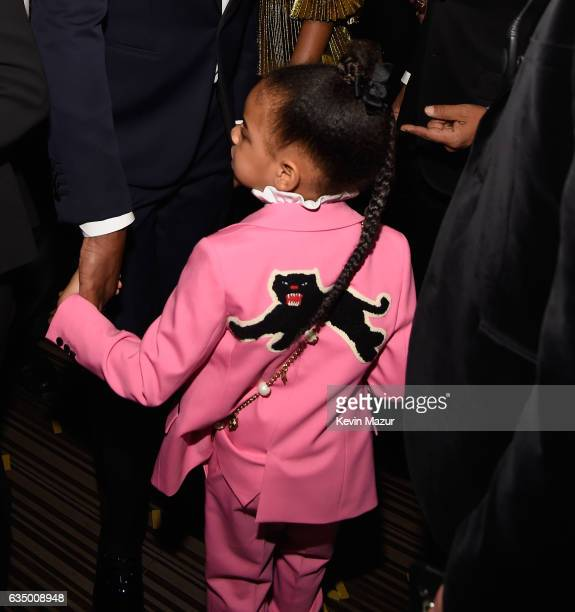 Blue Ivy Carter during The 59th GRAMMY Awards at STAPLES Center on February 12 2017 in Los Angeles California