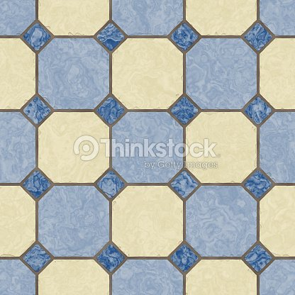 Pavimento Cucina Piastrelle Blu Seamless Texture Foto stock | Thinkstock