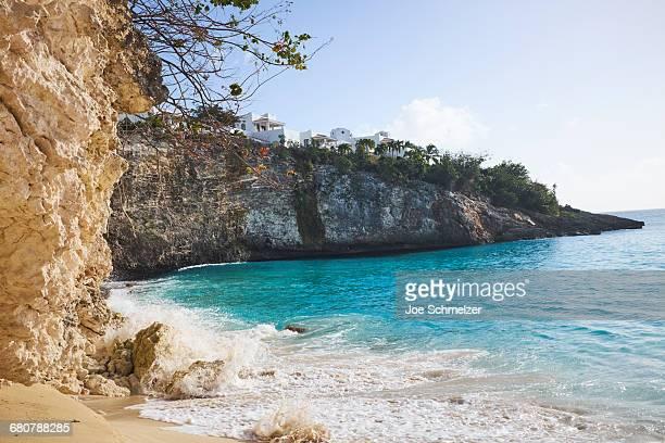 Blue lagoon, Saint Martin, Caribbean