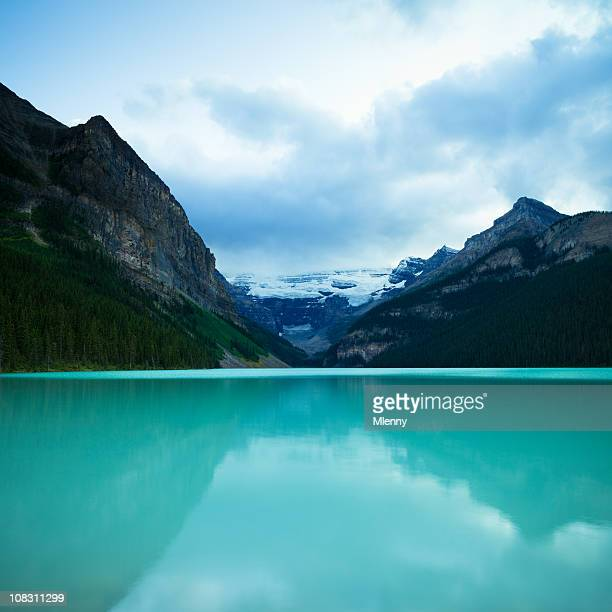 Blue Lake Louise Twilight