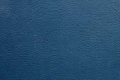 leather texture of blue sofa for background