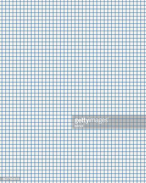 blue line white graph paper