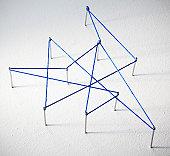 Blue lines connect data points