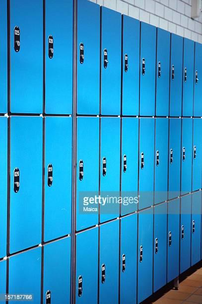 Bleu des casiers