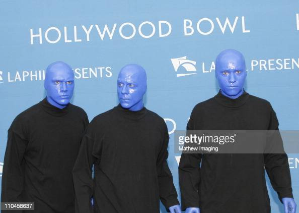 Blue Man Group during Opening Night At The Hollywood Bowl 2006 Arrivals at Hollywood Bowl in Hollywood California United States