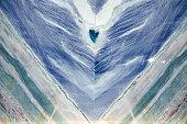 Blue marble onyx