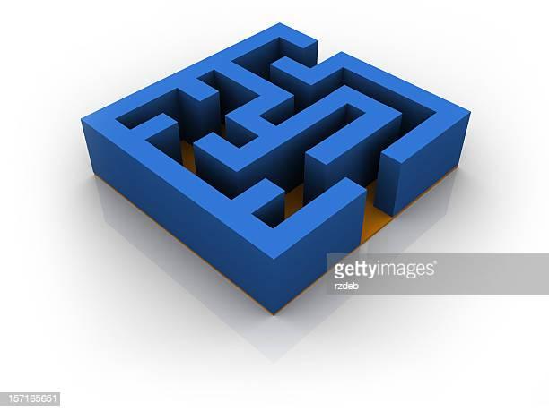 Blue Maze - Labyrinth