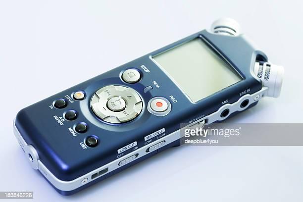 blue mobile pocket spy recorder