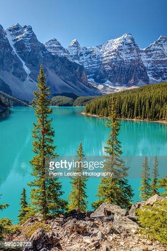 Blue Moraine Lake