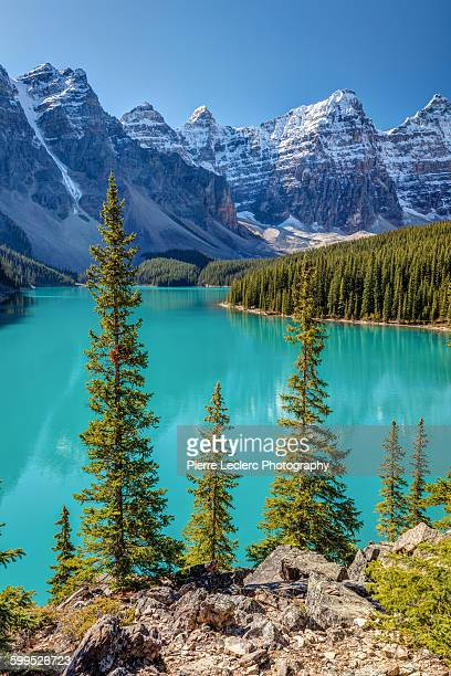 Blue Moraine Lake