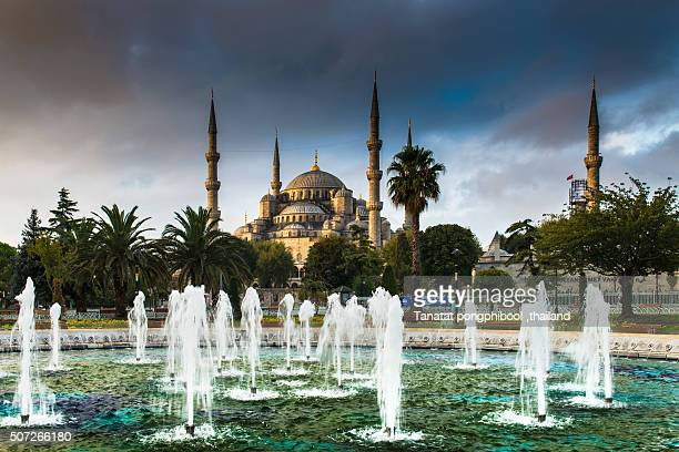Blue Mosque at Istanbul, Turkey.