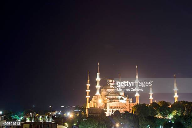 Blue Mosque for Ramadan, Istanbul, Turkey