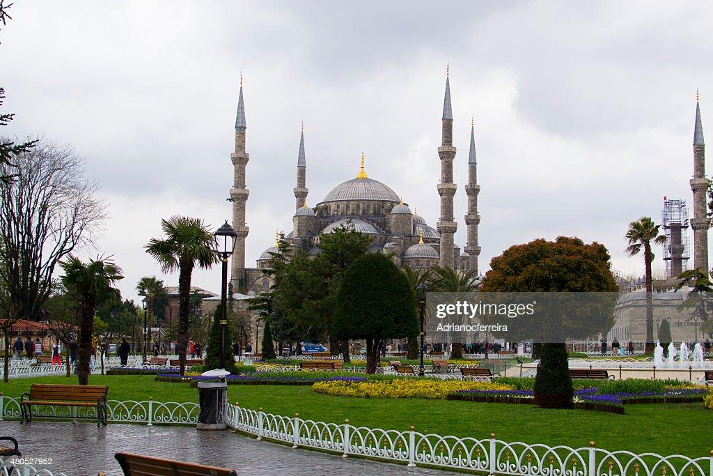 Blaue Moschee Sultan Ahmet Park, Istanbul : Stock-Foto