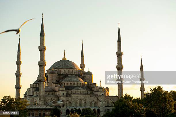 Blue Mosque, Sunset, Istanbul, Turkey