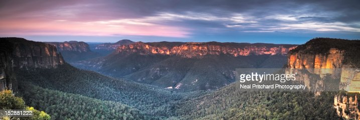Blue Mountains at dawn