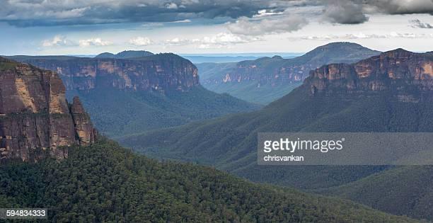 Blue mountains landscape, Sydney, Australia