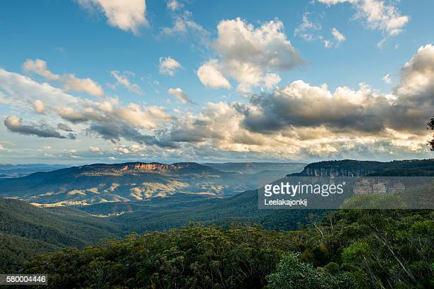 Blue Mountains national park Australia.