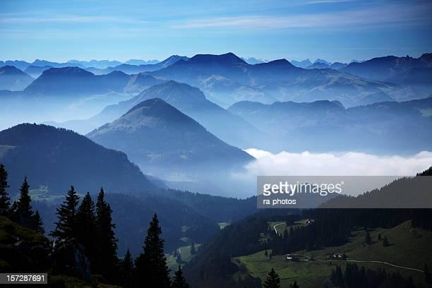 Gebirge Blue mountains