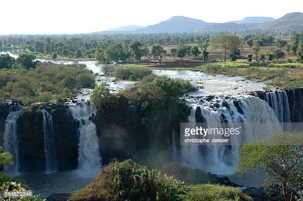 Cascadas del nilo azul, Etiopía