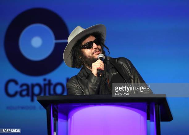 Blue Note Records President Don Was speaks onstage during Capitol Music Group's Premiere Of New Music And Projects For Industry And Media at ArcLight...