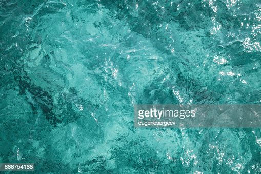 Blue ocean water surface, background photo : Stock Photo