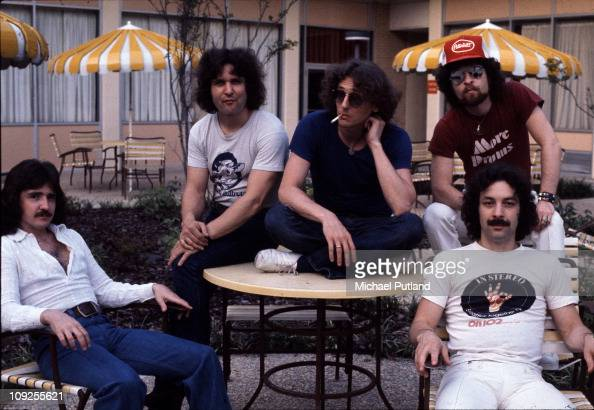 Blue Oyster Cult group portrait USA 30th July 1976