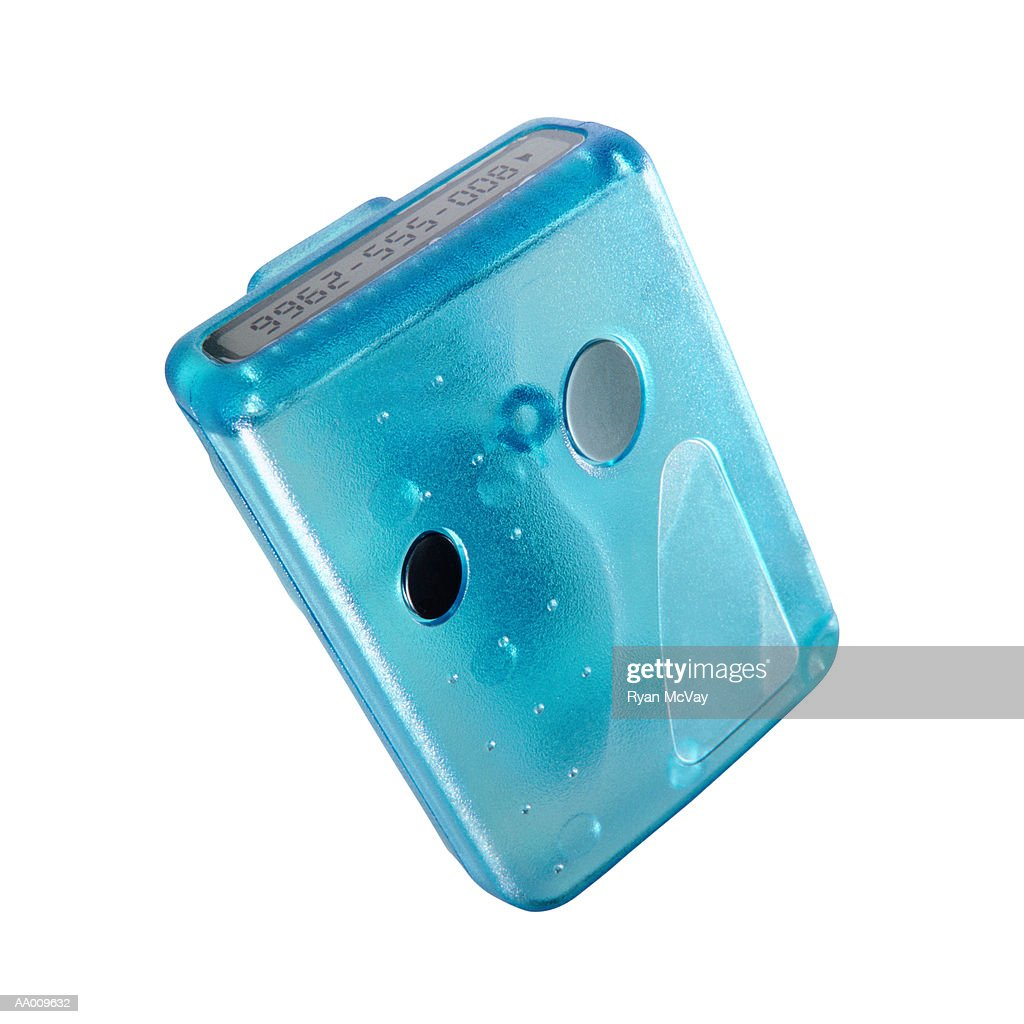 Blue Pager