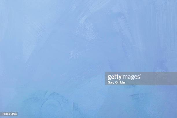 Blue painted backdrop