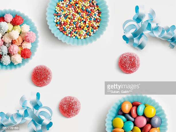 Cake Decorating Sugar Balls : Birthday Balls Stock Photos and Pictures Getty Images