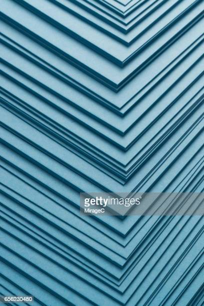 Blue Paper Stacking Background