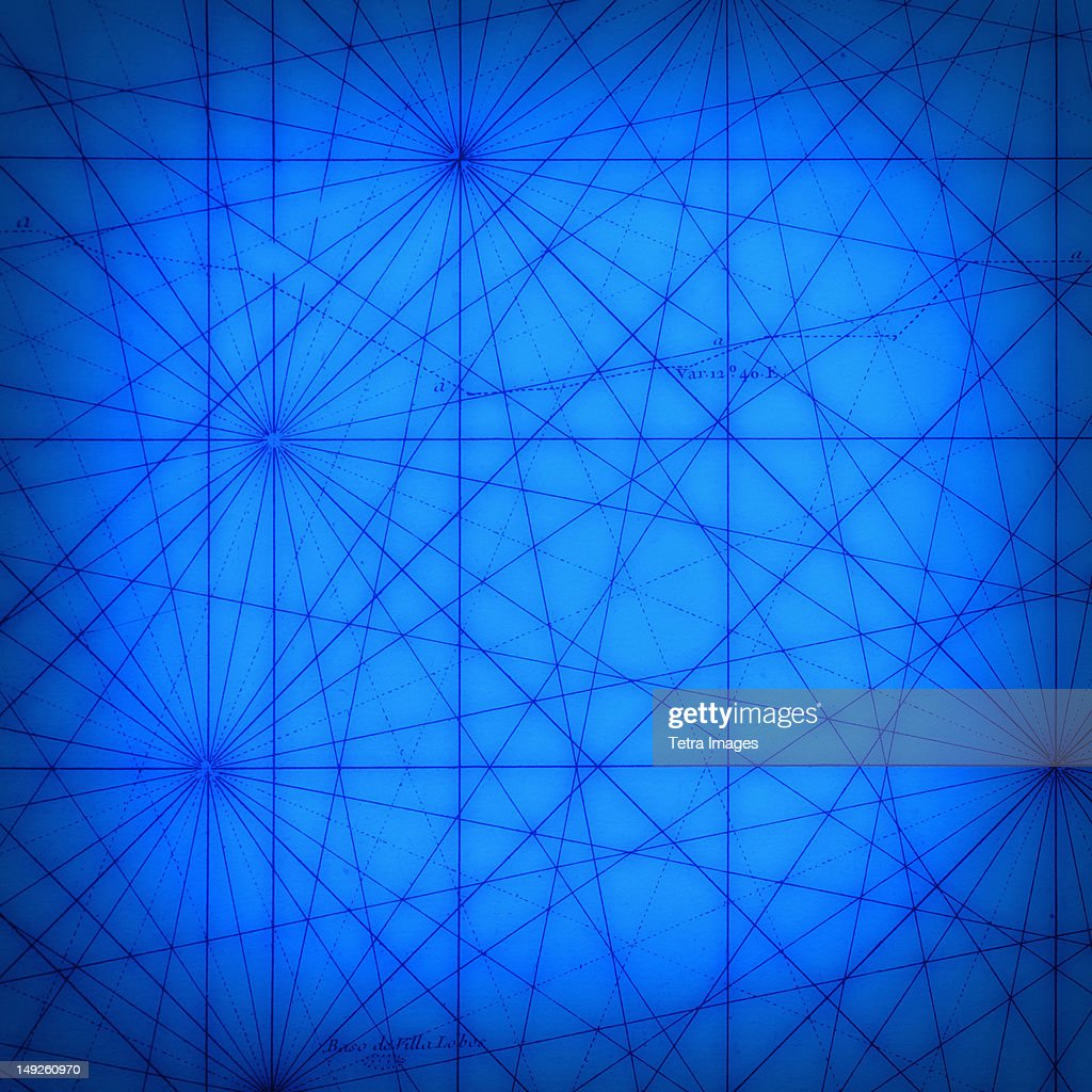 Blue pattern : Stock Photo