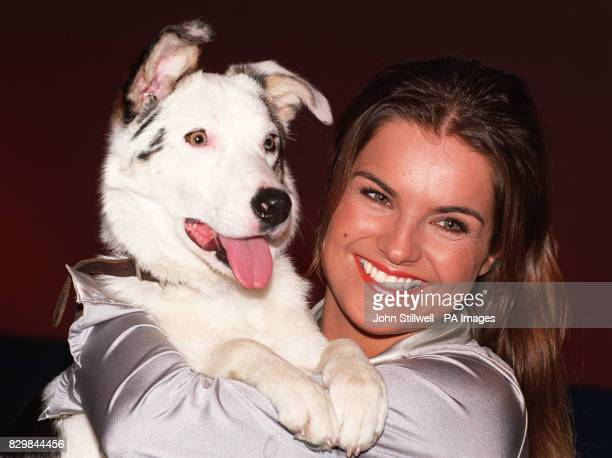 Blue Peter presenter Katy Hill with the childrens programme's latest recruit Mabel The tenmonthold Border Collie cross was rescued by the RSCPA just...