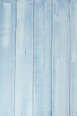 Blue Pine wood background. Weathered old wood. Rustic knotted wood.