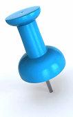Blue Pushpin