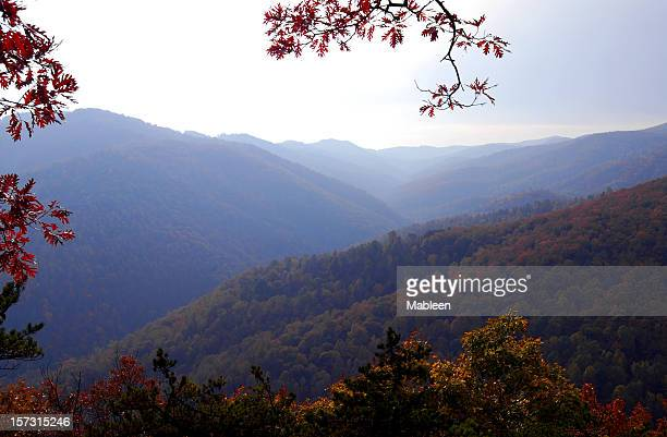 Blue Ridge mountains in Virginia