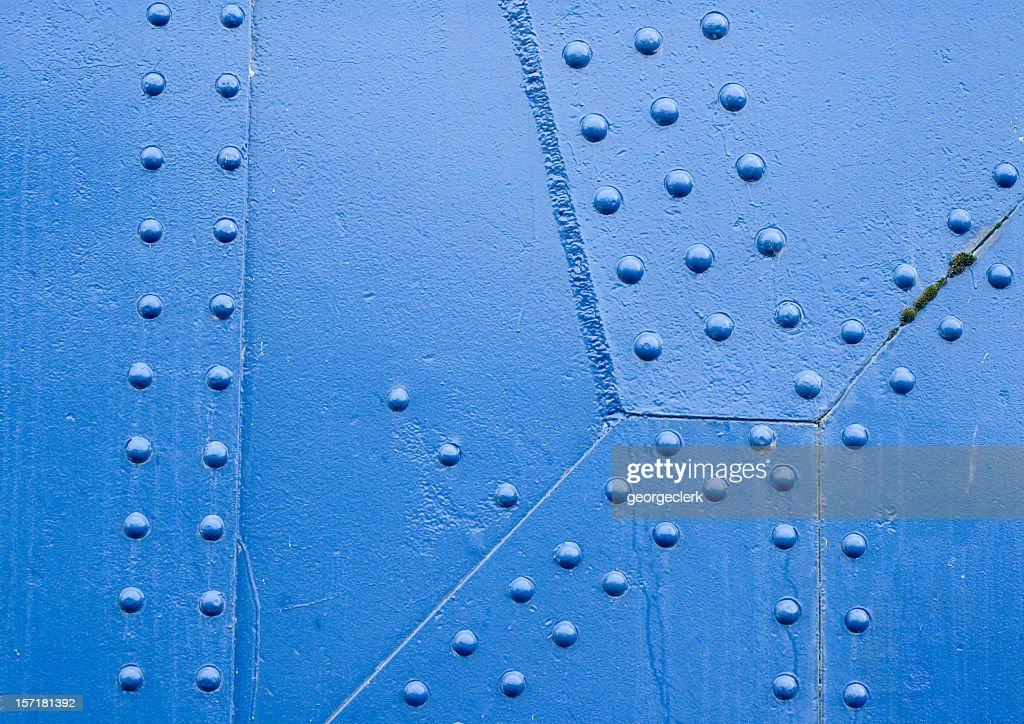 Blue Rivet Surface