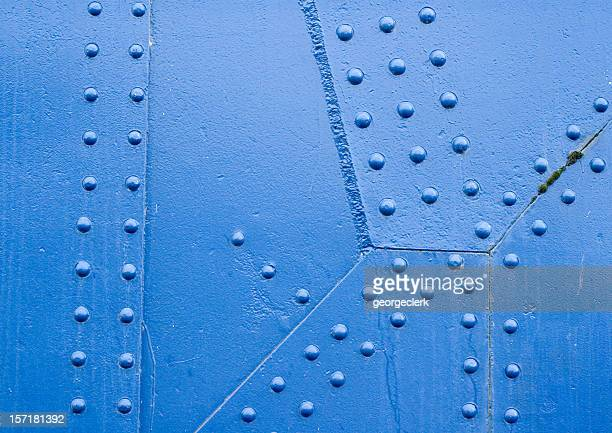 Blue Rivet Surface