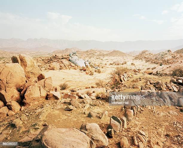 Blue Rocks, Tafraoute, High Atlas Mountains, Moroc