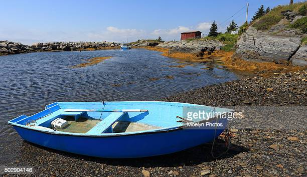 Blue Rowboat at Blue Rocks NS