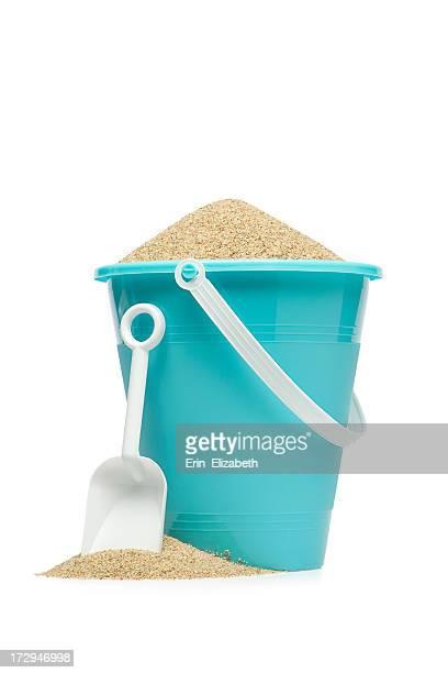 Blue Sand Pail