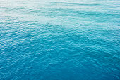 Blue sea abstract background