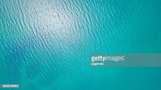 Blue sea for background : Stock Photo