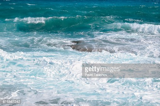 blue sea of Cyprus : Stock Photo