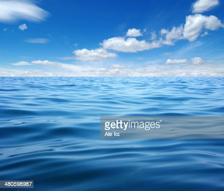 Blue sea : Stock Photo